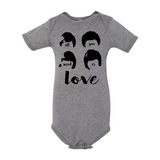 All You Need is Love Baby Onesie
