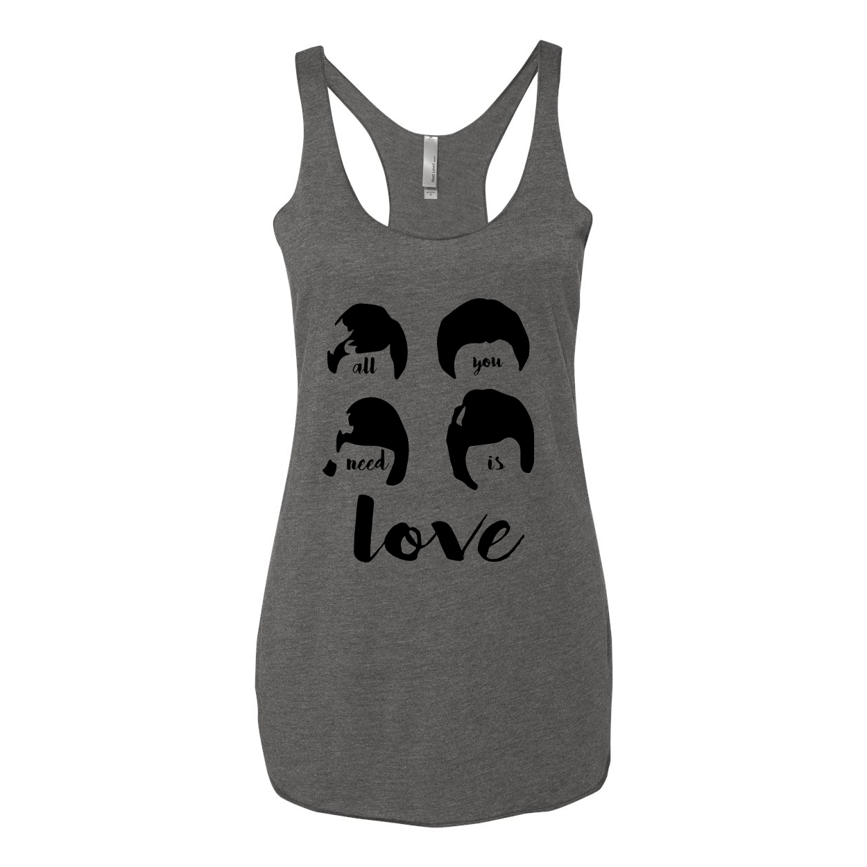All You Need is Love Women's Adult Tank