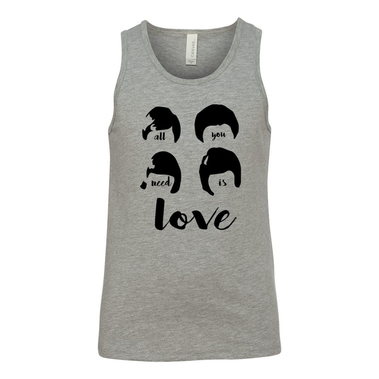 All You Need is Love Youth Tank