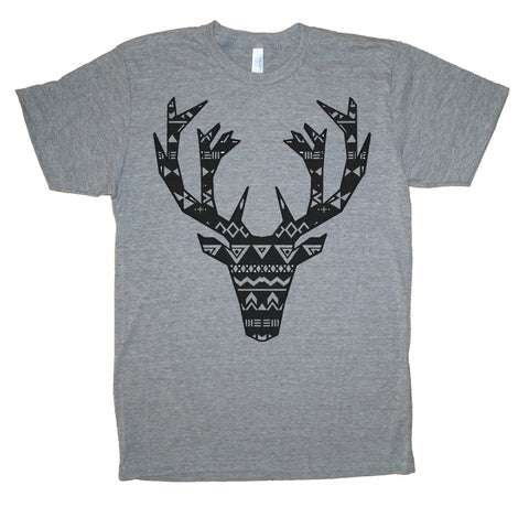 Holiday Elk Adult T-Shirt