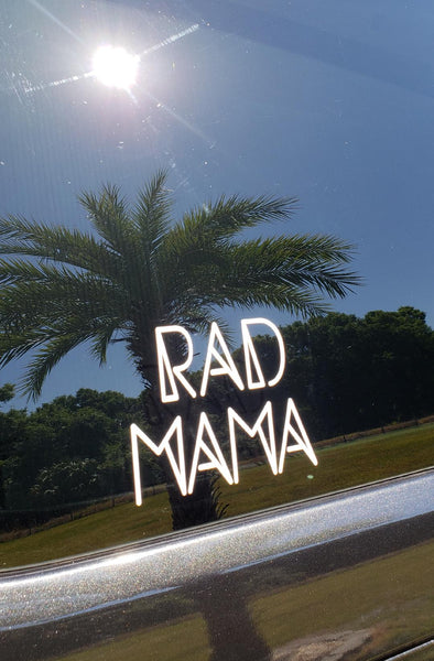 RAD MAMA Car Decal