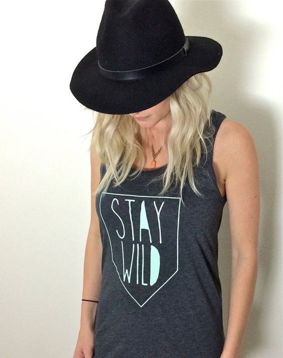 Stay Wild Tank (Adult)