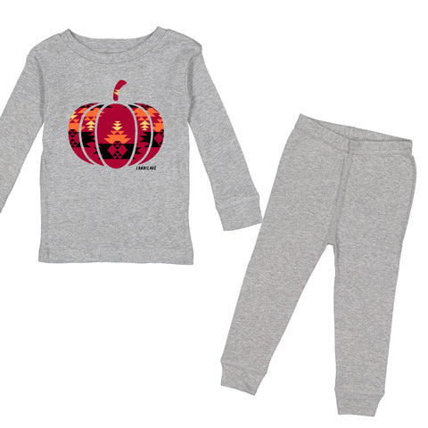 Aztec Pumpkin Holiday Pajamas