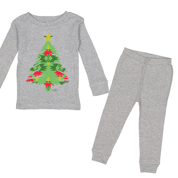 Aztec Tree Holiday Pajamas