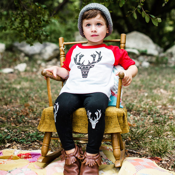 Holiday Elk Kids T-Shirt