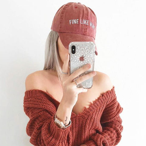 Fine Like Wine Hat