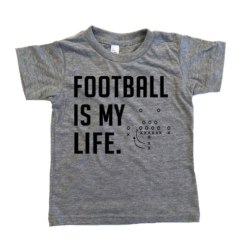 Football Is My Life Kids Shirt