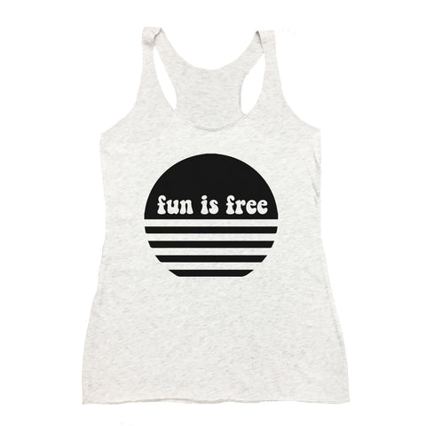 Fun Is Free Tank (Adult)