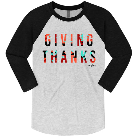 Aztec Giving Thanks Adult Raglan
