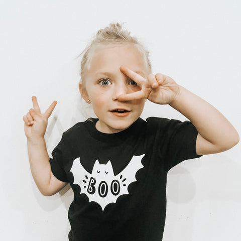 Benny the BOO Bat Black T-Shirt