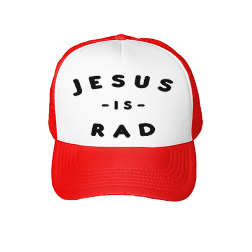Jesus Is Rad Trucker