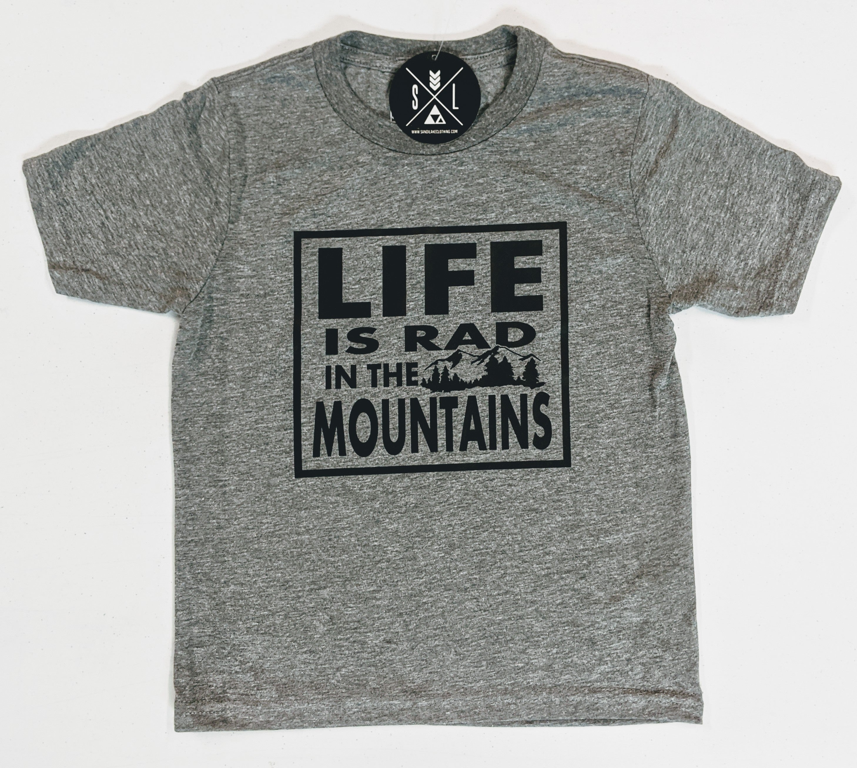 Life is Rad in the Mountains Tee