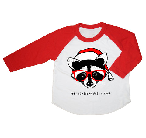 Raccoon Kid's Raglan