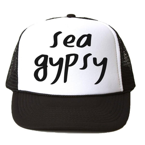 Sea Gypsy Black Trucker