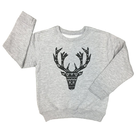 The Elk Gray Crew Neck