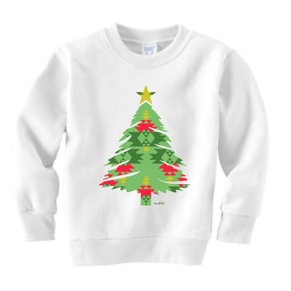 Aztec Tree Kid's Crew Neck Sweatshirt (Size 2T only)