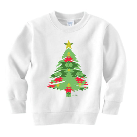 Aztec Tree Kid's Crew Neck Sweatshirt