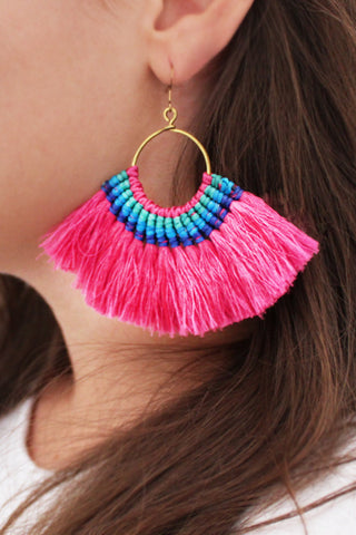Ornos Tassel Earrings
