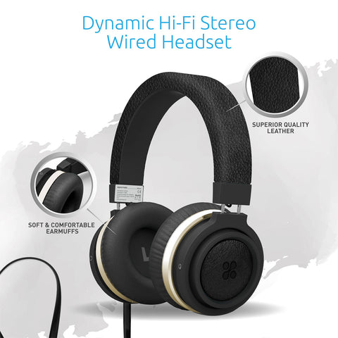 Boom<br><span style='color:#000000;font-size:16px;'>Dynamic Hi-Fi Stereo Wired Headset</span>