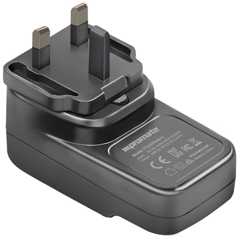 powerHub-4UK<br><span style='color:#000000;font-size:16px;'>6.8A Ultra-Portable Heavy Duty USB Wall Charger with 4 USB Charging Ports</span>