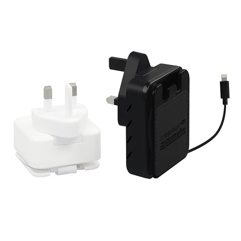 smartPlug-LT<br><span style='color:#000000;font-size:16px;'>4.4A Ultra-Fast Home Charger with Dual USB Ports & Lightning Connector</span>