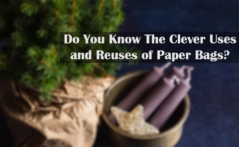 Do You Know the Clever Uses and Reuses of Paper Bags?