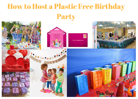 How to host a plastic free birthday party