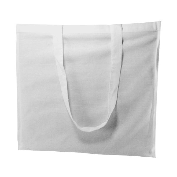 White Cotton Gusset Bags