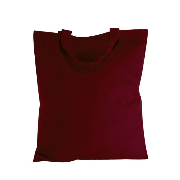 Burgundy Natural Canvas Bags -picobags