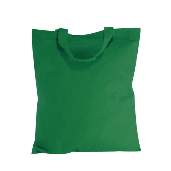 Green Natural Canvas Bags