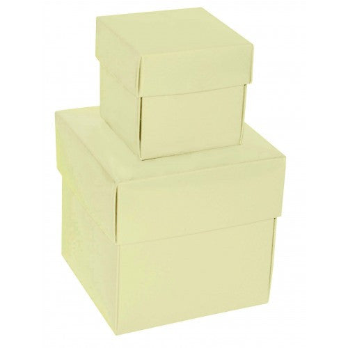 Ivory Square Matt Laminated Gift Boxes - 2