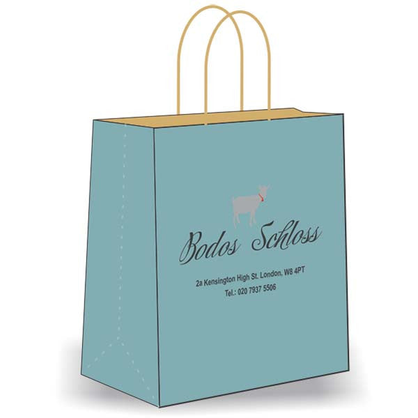 personalised carrier bags