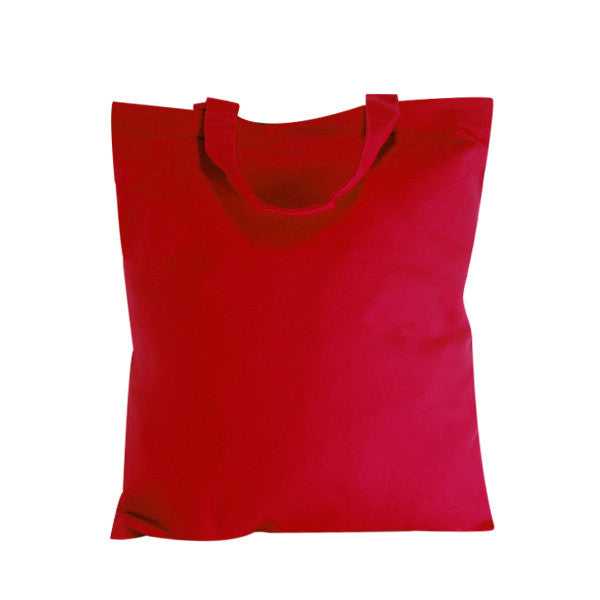 Red Natural Canvas Bags