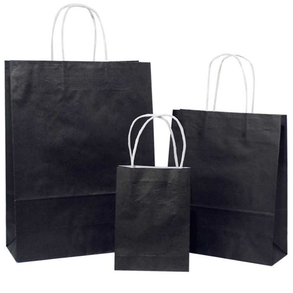 white carrier bags with twisted handles