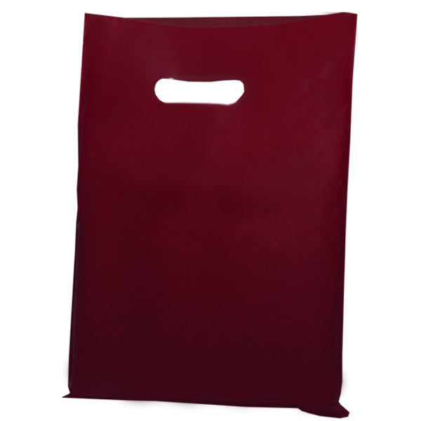 Red Plastic Carrier Bags