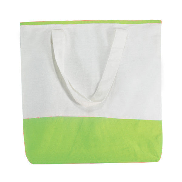 White X Mas Green Canvas Dualtone Bags