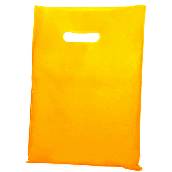 Yellow Plastic Carrier Bags