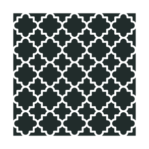 NCS-135 Large Moroccan stencil