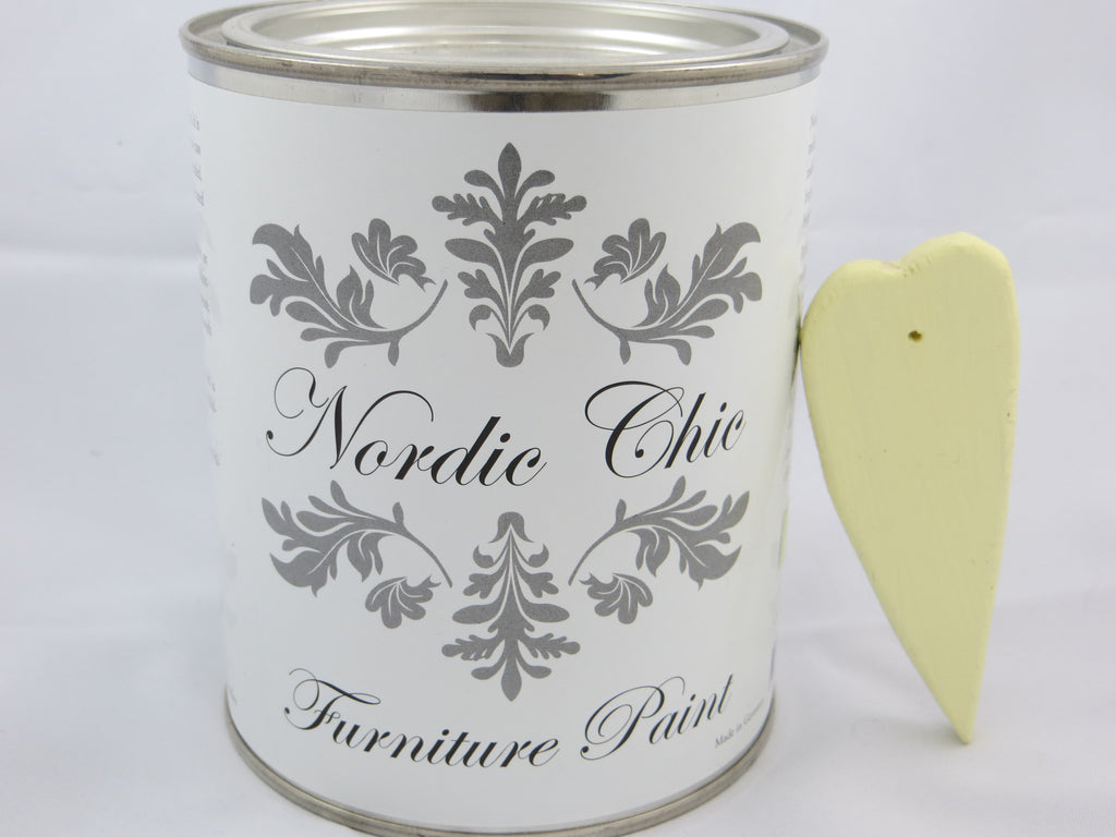 Nordic Chic Furniture Paint - Silky Yellow