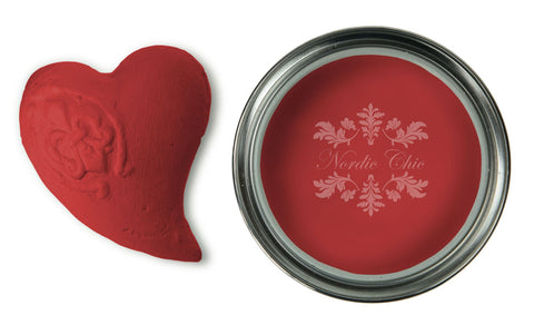 Nordic Chic Furniture Paint - Ravishing Red