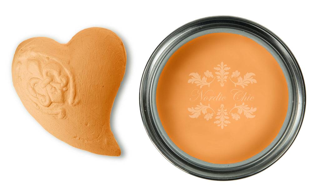 Nordic Chic Furniture Paint - Orange Passion