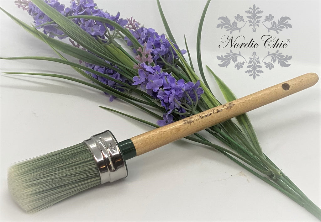 Nordic Chic Oval Paint Brush Size 35mm
