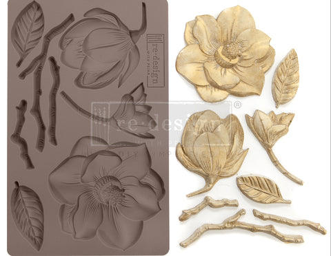 Prima Redesign Decor Moulds - Winter Blooms
