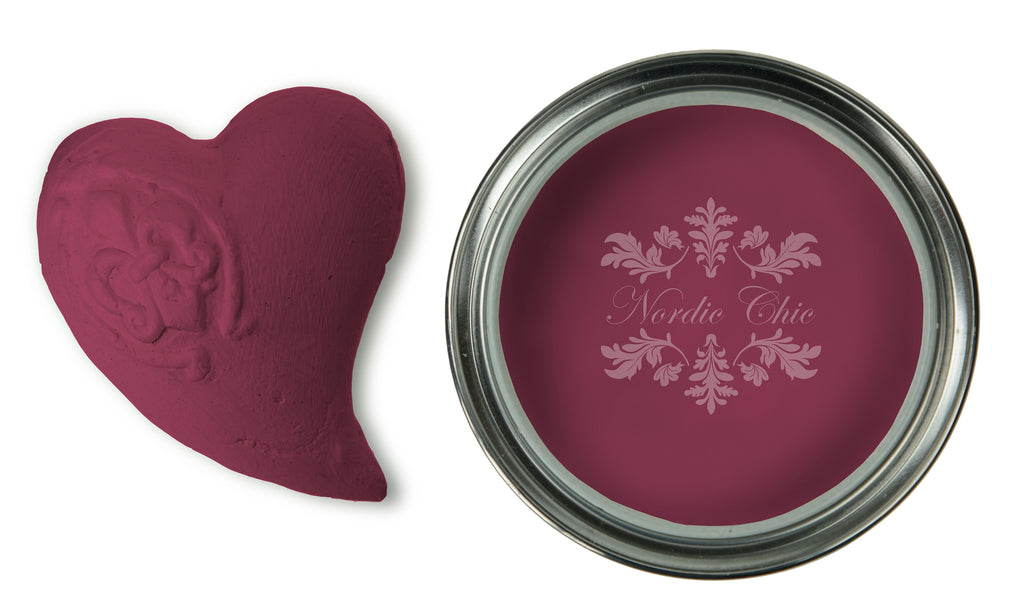 Nordic Chic Furniture Paint - Ruby Wine