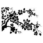 NCS-105 Cherry Tree Stencil