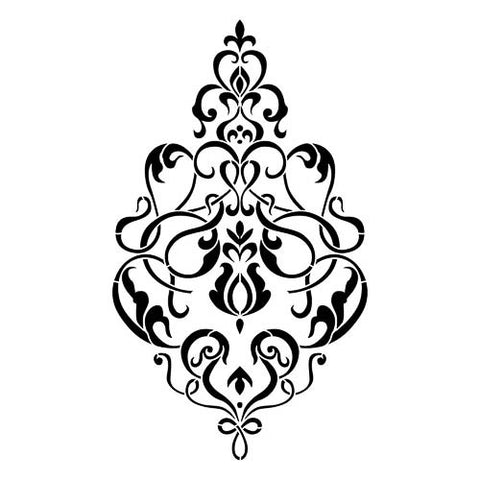 Artisan enhancements stencils nordic chic ncs 103 valentino chandelier stencil aloadofball Image collections