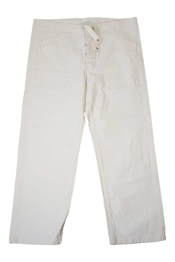DKNY 100% Cotton Men's Wide Leg Cargo Trousers (W43 L31)-DKNY-The Freperie