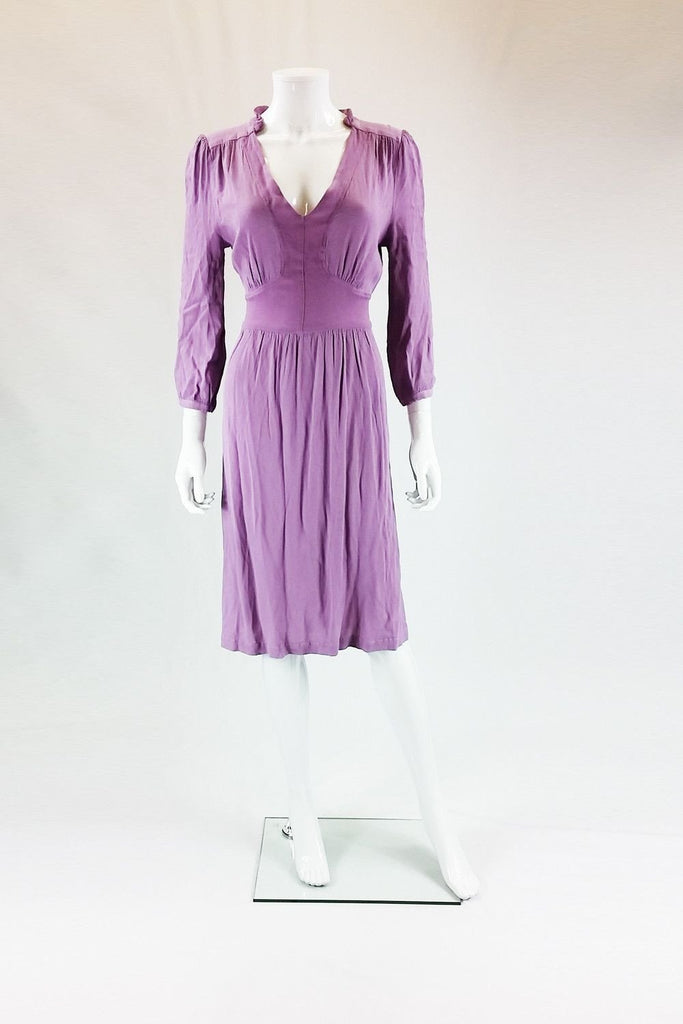 GHOST HERITAGE Paige Lilac Dress-Ghost-The Freperie