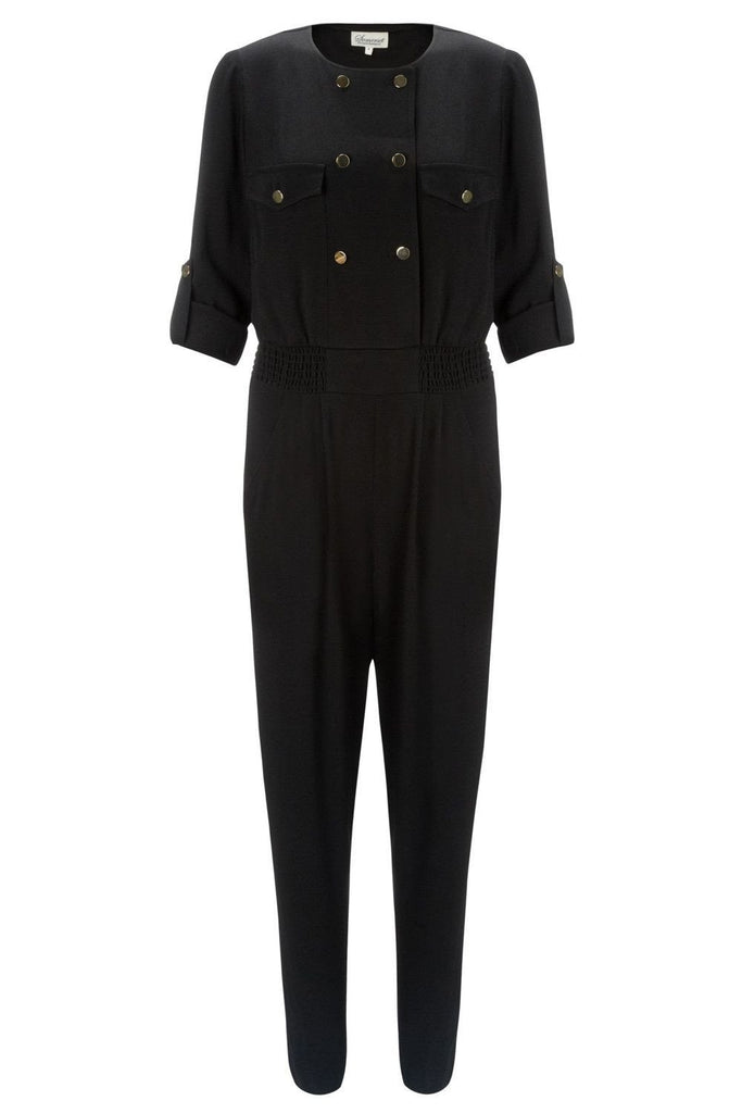 SOMERSET by ALICE TEMPERLEY Military Jumpsuit-Somerset by Alice Temperley-The Freperie