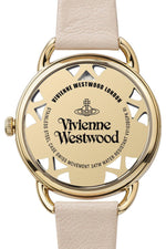 Load image into Gallery viewer, VIVIENNE WESTWOOD Pink Leather Women's Leadenhall Wristwatch VV163BGPK-Vivienne Westwood-The Freperie